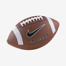Kit Bola Futebol Americano Wilson NFL Avenger Azul com Branco + ... bce7a79677e00