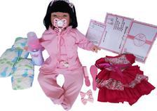 6fd5a04b2e Boneca Bebe Reborn Mel MasterToys Colorido - Master toys - Boneca ...