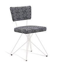Cadeira Butterfly Retro Preto e Cinza - Daf - Cadeira para Cozinha ... ac6c856c29d