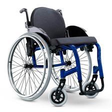 2d52ea771 Cadeira de Rodas Monobloco Star Lite Ortobras Alumínio com Encosto ...