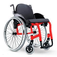 bc9170718115 Cadeira de Rodas Alumínio AVD Ortobras Dobrável em X 000000 44cm ...