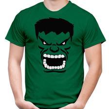 Camiseta Hulk Desenho Camisa Adulto Infantil Feminina Vetor