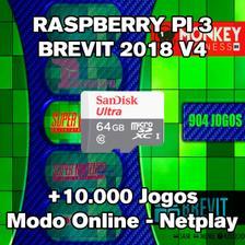 Kit Multijogos Raspberry Recalbox 14 Mil Jogos 2 Cont V6 0