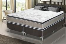e5a76ccd3 Conjunto cama box king size soft comfort preto - antiácaro ...
