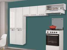 Oferta ➤ Cozinha Compacta Itatiaia Rose – 7 Portas Aço   . Veja essa promoção