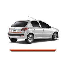 23ebf2055 Friso Cromado Resinado Traseiro Porta Malas Peugeot 206 99 a 10 e ...