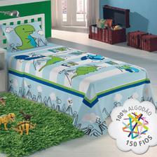 6f0953e9d4 Jogo de cama 3pçs Solteiro Fundo Do Mar Sul Brasil - Jogo de Cama ...
