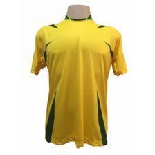 5f98a50a9f987 Uniforme Esportivo com 18 camisas modelo Milan Preto Branco + 18 ...