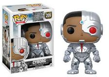 New in Box Funko Pocket POP Justice League S1 CYBORG Keychain
