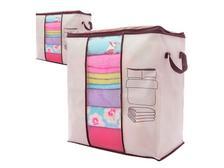 2eaacab17 Kit 06 Saco Organizador Closet Edredon Cobertor C  Ziper G ...