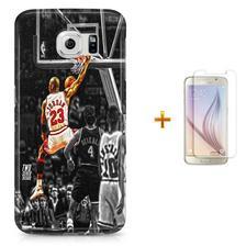 Kit Capa Case TPU Galaxy Gran Prime G530 G531 Michael Jordan 23 ... 86feb78bb914e