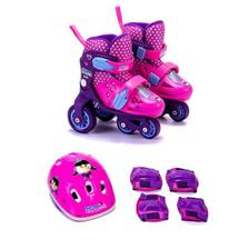 e10400b10 Kit joelheira e cotoveleira infantil acessorios para skate patins ...