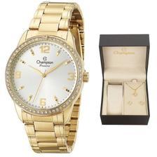 37d04ccbae6 Fecho Tranca Dourado Compatível com Relógio Champion CN28679H 22mm ...