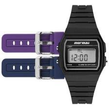4703dffb92f Relógio Mormaii Unissex Acquarela Troca Pulseiras FZ V8B - Relógio ...