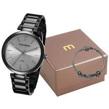 f99820f8cb6 Relogio Mondaine Feminino Ref  76559lpmvpe4 Fashion Black - Relógio ...