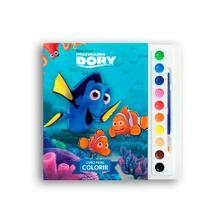 Livro Para Colorir Aquarela Procurando Dory Disney Dcl Livros