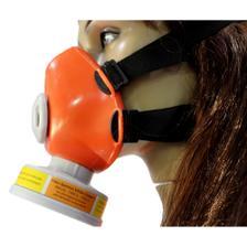 Mascara respiratória semi-facial com 2 filtros para pintura worker ... 836bdac62f