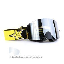 9f26d93ed Óculos Motocross Dragon NFX2 Blur - Lente Azul Espelhada + Tear Off ...