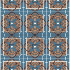 1e85a6b4b Papel ConTact Decorativo Azulejo Porto Rolo com 10m x 45cm - Vulcan ...
