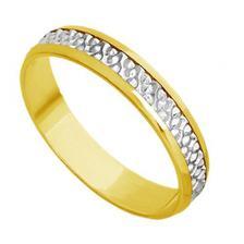 Par de Aliança Casamento Ouro 18k Bodas de Ouro abp29 - Joiasgold ... eda8cfaa8b