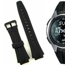 a0ad686776d Pulseira Compatível para Relógio Casio DW 1000 de Silicone Preta ...