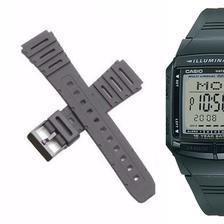 c4d68e0b86f Pulseira Compatível para Relógio Casio F94 de Silicone Preta ...