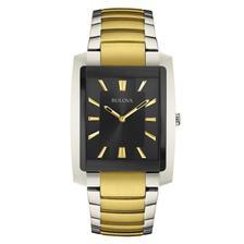 2fed9b7dedf Relógio Bulova Masculino Ref  Wb22436u Slim Dourado - Relógio ...