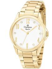 421b476607d Relógio Champion Elegance Feminino Dourado CN27778H - Relógio ...