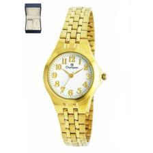 fde819848db Relógio de Pulso Champion Elegance Feminino CN27241H - Dourado com ...