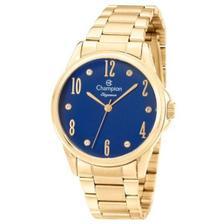 0b36df33076 Relógio Champion Feminino Elegance Dourado CN25029W + Kit SemiJoias ...