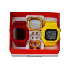 5410e7f4c44 Relógio Champion Yot Original Cp40180x Branco Vermelho - Relógio ...