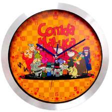 d7bc9b9778d Relógio De Parede Relógio De Pulso Retrô Preto Com Ganchos - Versare ...
