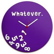 fdfc6e12cbb Imagem de Relógio de parede Whatever. - Yaay