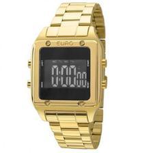3bbe909b267 Relogio Lince Feminino Digital Quadrado Dourado SDG615L BXKX ...