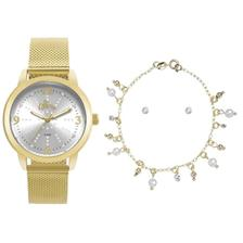 967a721fe79 Relógio Feminino Allora Analógico AL2035EZS4B - Dourado - Relógio ...