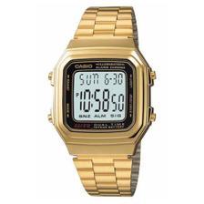 41c02b17c76 Relógio Feminino Digital Casio Vintage LA680WGA-9BDF - Dourado ...