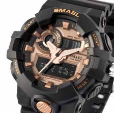 9e3e79549bf Relógio Masculino G-shock Smael 1545 Prova Dágua Camuflado - Relógio ...