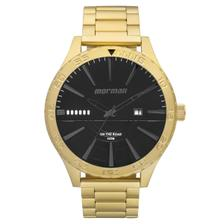 25e21433877 Relógio Masculino Mormaii MO2115AZ4P Pulseira Aço Dourada - Relógio ...