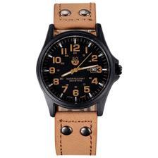 cbffb4238da Relógio Masculino Pulso Quartzo Esportivo Couro Preto - Outras ...