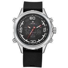 7d68569b58f Relógio Masculino Weide Anadigi WH-1104 Vermelho - Relógio Masculino ...