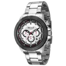 ecf00b70902 Relógio Seculus Masculino Chronograph Troca Pulseiras 28917G0SKNA1 ...