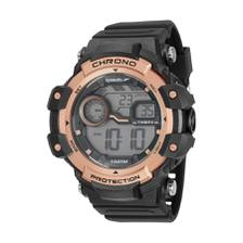 90cc308d4a9 Relógio Feminino Speedo 11002L0EVNP2 Branco Rose 45mm de diametro ...