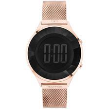 947d37f025a Relógio Euro Feminino Ref  Eujhs31baa 3a Digital Mirror Prata ...