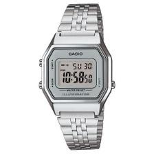 7e48b152d5b Relógio Vintage Unissex A168wec-3df Camuflado Prata - Casio ...