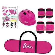 c7ecca5e5f2 Barbie Skate com Acessórios e Adesivos Glitter - Fun Divirta-Se ...