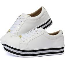 1416082a914 tenis feminino enfermeira branco couro conforto - Pizaflex - Tênis ...