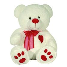 Urso Pelúcia Importada Médio Doce de Leite Coração Vermelho - W.u. ... 7f9bbca581e96