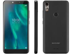 """Smartphone Multilaser F 16GB Café 3G Quad-Core - 1GB Tela 5,5"""" Câm. 5MP + Selfie 5MP Dual Chip"""