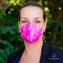 40 Máscaras pff2 Rosa ProtecFace com Selo Inmetro CA 43.740  em Embalagem Individual e Lacrada n95