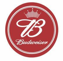 Adesivo De Recorte Tampa Redondo Tambor Budweiser Beer
